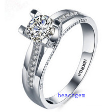 Hot Sell Jewelry- Cubic Zirconia Brass Rings (R0822)