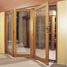 Portes intérieures / extérieures de patio pliante Aluminiun Casement