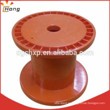 Carrete de carrete de alambre de plástico de 130 mm DIN