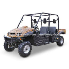 Double Seats UTV with 49Nm/5,000rpm Torque and 9.2:1 Compression Ratio
