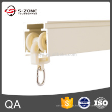 GD17 Rail à rideaux carrés en alliage d'aluminium à chaud