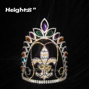 Custom Crystal Mardi Gras Pageant Crowns