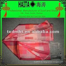 Bufanda de color de la bufanda
