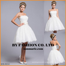 china custom made wedding dress short wedding dress BYB-R014