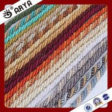 Zhejiang Hangzhou Taojin Têxtil Cordão Decorativo bonito para decoração de sofá ou acessórios para decoração de casa, cordão decorativo, 6mm