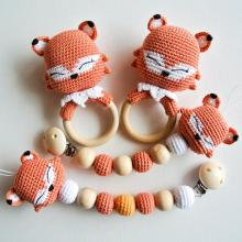 Baby Newborn Crochet Rattle Toy Pattern