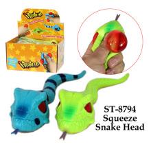 Lustiges Squueze Schlangenkopf Spielzeug
