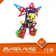 Multi - Functional Block Magnetic Puzzle Criatividade 14 Peças