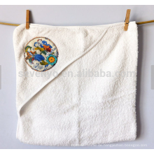Kapuzenhandtuch 100% Baumwolle aus Baumwolle handbemalt viktorianisches Design der Kinder spielen
