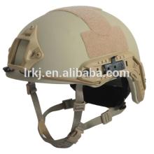 NIJ IIIA kevlar 0101.06 casco de combate táctico a prueba de balas táctico rápido