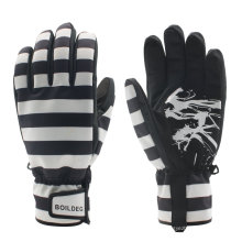 Fashion Reinforced Fingertips Outdoor Sports Thinsulate Warm Ski Gloves