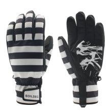 Moda reforçada Fingertips esportes ao ar livre Thinsulate luvas de esqui quentes