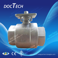 2PC fileté Ball Valve 4 pouces