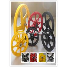 горячие продажи высокого качества дешевые велосипед пластиковые колеса