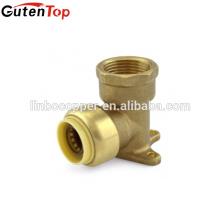 GutenTop Push Fit Fitting Gota de Orelha Cotovelo Conector Rápido com PEX COBRE CPVC tubo