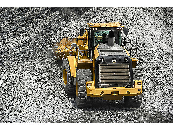 cat 966l wheel loader