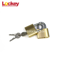 Fast Delivery for Thermoplastic Safety Padlock Security Golden Color Paint Brass/Copper Padlock supply to Mayotte Factories