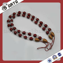 Corbeau décoratif décoratif avec perles