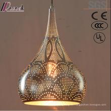 Iluminación colgante antigua de Gold Gourd Gold LED con restaurante