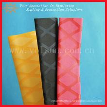 Декоративная термоусадочная противоскользящим Текстурированный тепла термоусадочная трубопровод