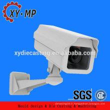 Pièces détachées en aluminium personnalisées pour caméra cctv / caméra IP