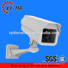 Customized aluminum material spare parts for cctv camera/ip camera housing