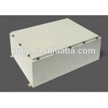 Sheet metal distrubution enclosure-powder coating