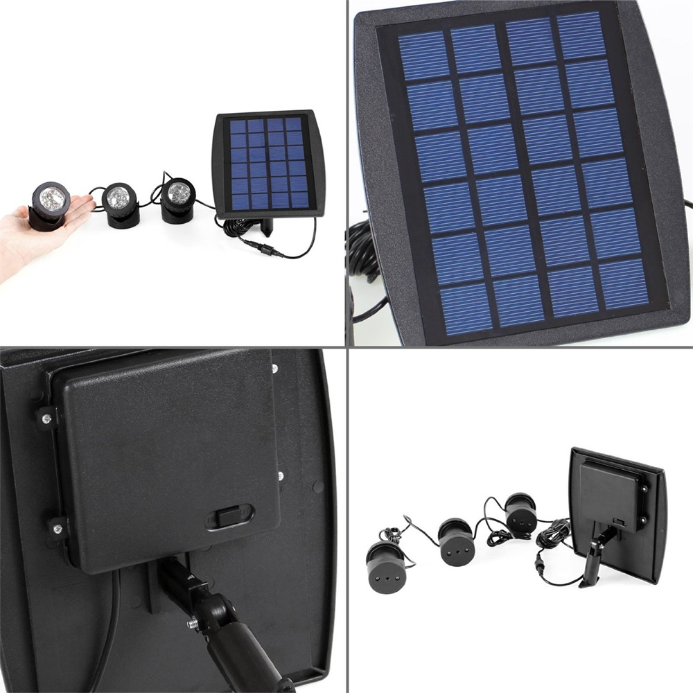 Outdoor Underwater Solar Light RGB