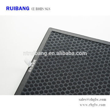 high efficiency odour removal activated carbon air filter