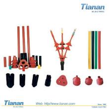 Boite de raccordement à chaleur Shrink thermorétractable de 35kv / Raccord direct pour 11 kV, 400mm 2, XLPE, câble de cuivre à trois côtés
