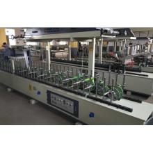 Hotmelt (PUR) Wrapping Máquina de chapa para puertas y escritorios