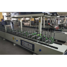 Hotmelt (PUR) Wrapping Veneer Machine para Portas e Mesas