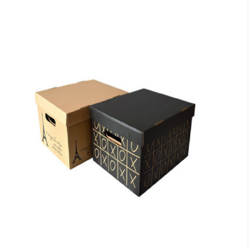Portable Kraft Packing For Gift