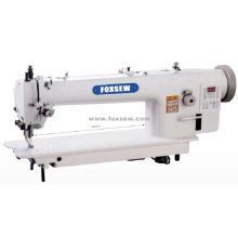 Швейная машина с верхним и нижним приводом с длинным рукавом и автоматическим триммером