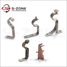 single decorative eyelet bracket for iron curtain rod