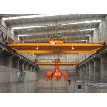 Double Girder Mobile Overhead Crane With Grab Bucke (FHJ-6A)