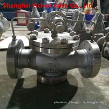 Válvula redutora de pressão flangeada de oxigênio de 4 in 300 lb