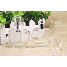 Стеклянные бутылки круглого кристаллического стекла для бутылок ароматности