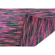 Spandex de poliéster Space Dye Jersey