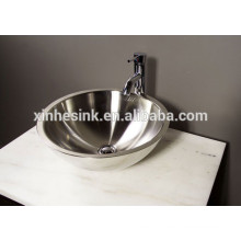 304 Stainless Steel Bathroom Sink with Double Wall
