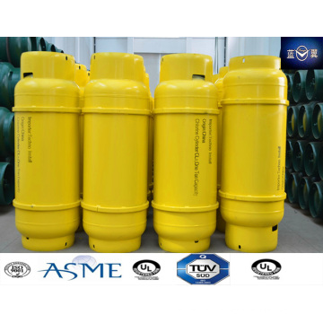 1000L Refillable Steel Welding Liquified Gas Cylinder for Hfc404A