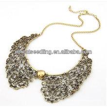 Mais vendidos oferta especial Latest Style Mulheres ouro frisado colar colares
