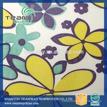 Tissu non tissé en polyester à imprimé pour Teamway
