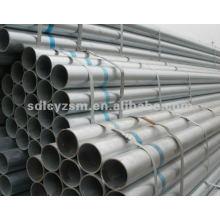 tuyau d'acier liquide enduit de zinc