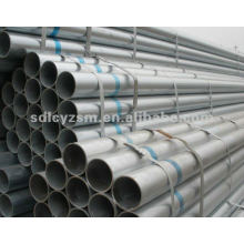 zinc coated Fluid steel pipe