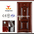 Durable Customize ISO 9001 steel exterior Fabricated Metal Doors