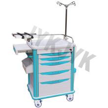 Carrito de emergencia médico ABS Jyk-C10c