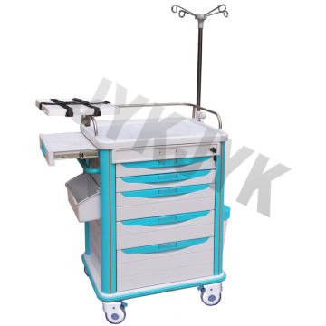 Medical ABS Emergency Trolley Jyk-C10c