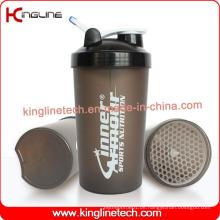 700ml Plastik-Protein-Shaker-Flasche mit Deckel (KL-7034G)