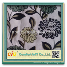 Flower Jacquard Fabric Textile